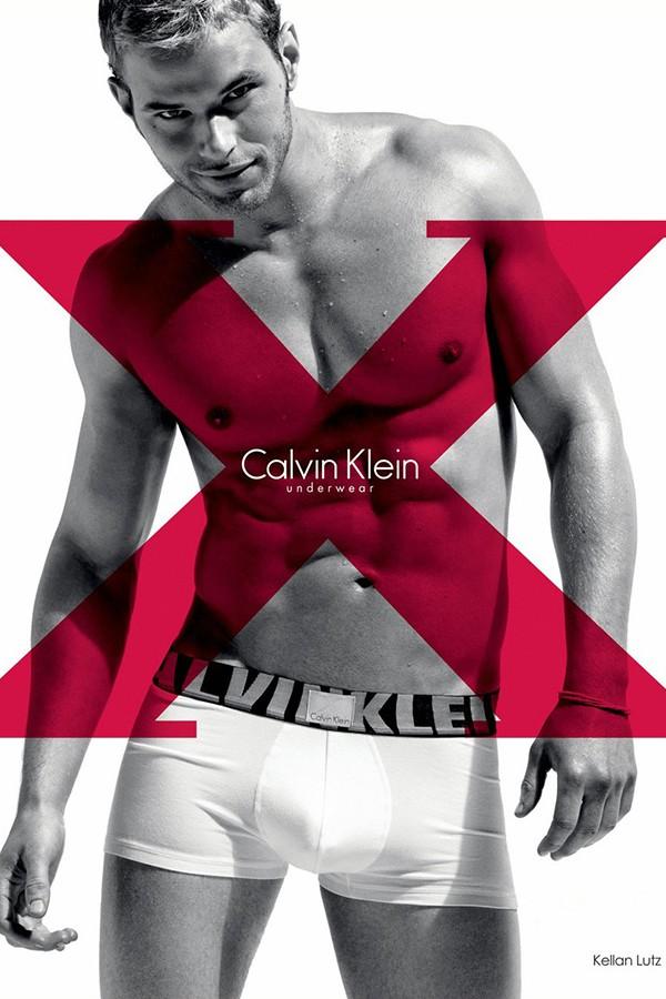 Kellan Lutz para Calvin Klein (Foto: Divulgação)