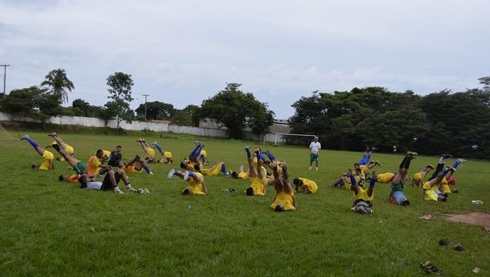 Tocantinópolis mantém ritmos de treinos agora para disputa do estadual (Foto: Divulgação)
