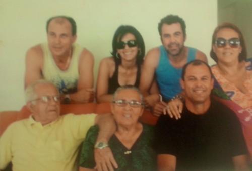 Samuel e família (Foto: Arquivo Pessoal)