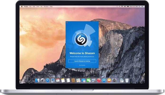 Shazam estreia identificação automática de músicas em primeiro app para desktop, dedicado ao Mac OS X (Foto: Divulgação/Shazam)