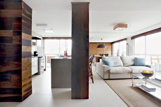 D cor do dia urbano ou praiano casa vogue interiores - Decorar columnas interiores ...