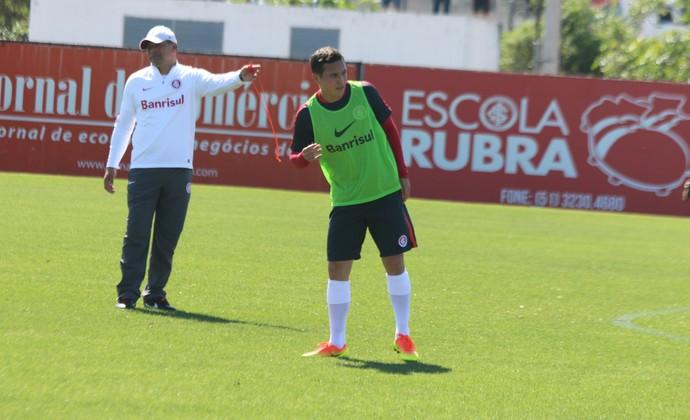 Seijas treino do Inter (Foto: Tomás Hammes/GloboEsporte.com)