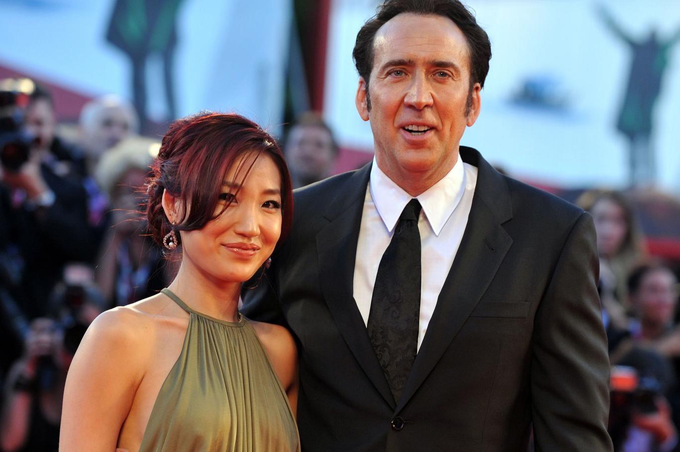 Alice Kim Cage e Nicolas Cage (Foto: Divulgação)