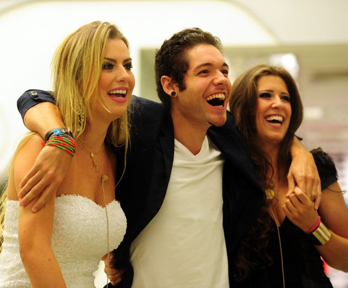 Fernanda e Andressa tiveram conflitos mas permanecem amigas (Foto: TV Globo)
