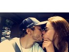 Rayanne Morais beija Douglas Sampaio em foto na web