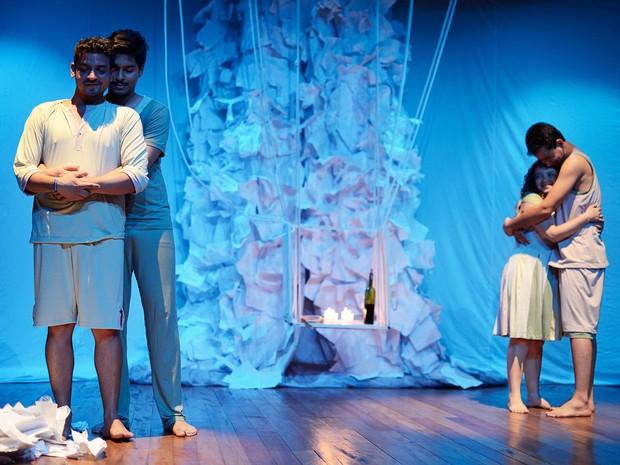 Grupo Raízes do Porto, se aprersenta com a peça 'Findo' no Palco Giratório nesta quarta, em Porto Velho (Foto: Assessoria/Divulgação)