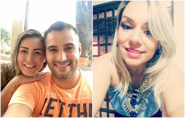 Andressa Urach, Tiago Costa e Juliana Soares (Foto: Reprodução/Instagram)