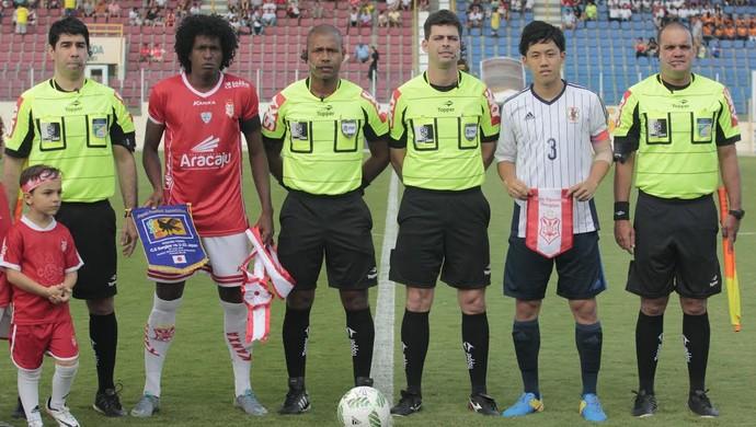 Sergipe; Japão; Batistão; Aracaju (Foto: Osmar Rios / GloboEsporte.com)