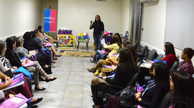 A Emdime tem organizado eventos para capacitar as empreendedoras do interior do Rio Grande do Sul (Foto: Divulgação/Emdime)