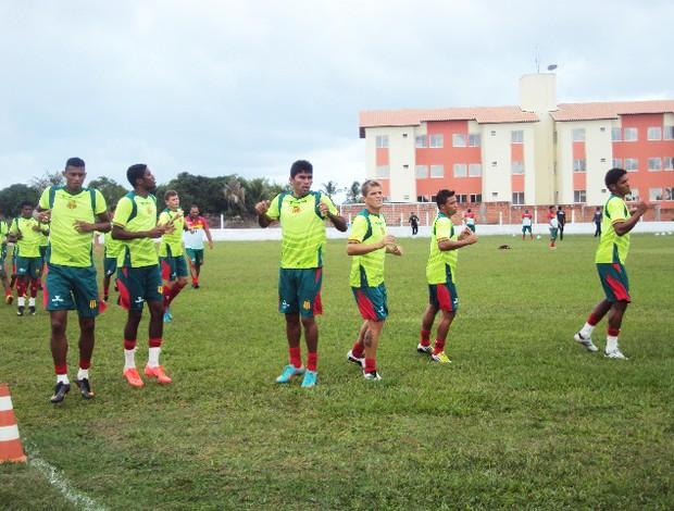 Grupo do Sampaio no Estadual será o mesmo para o Brasileiro da Série C (Foto: Afonso Diniz/Globoesporte.com)