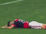 """Diego vacila, perde gol cara a cara com Cássio e leva o """"garrancho"""" da rodada"""