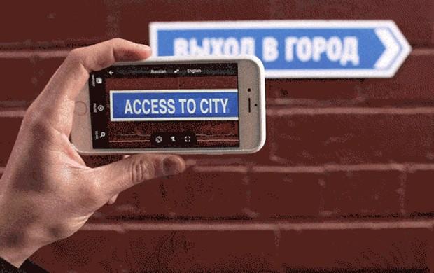 Aplicativo do Google Translate agora faz traduções em tempo real (Foto: Divulgação/Google)