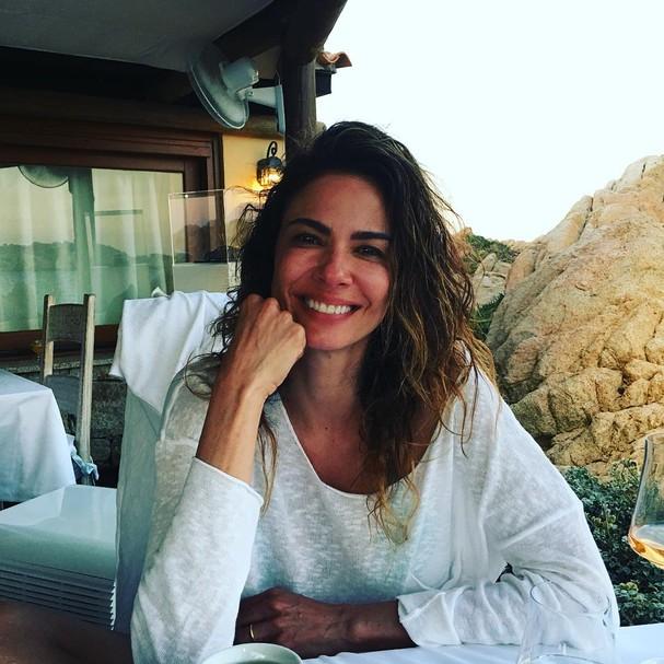 Luciana Gimenez sem maquiagem (Foto: Reprodução/Instagram)