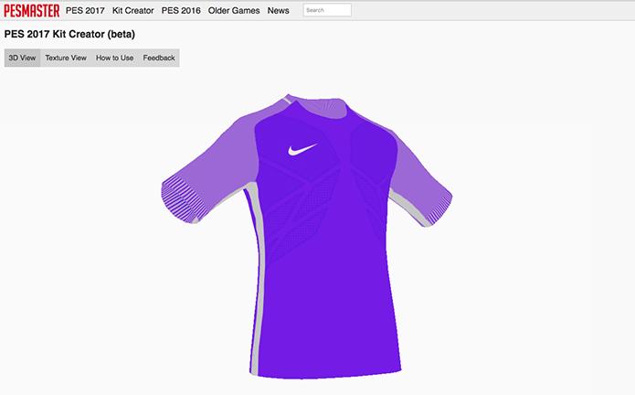 Como criar camisas personalizadas usando o PESMaster no jogo PES