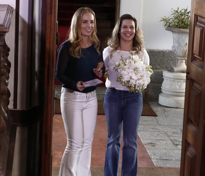 Fernanda Souza é casada com Thiaguinho há mais de um ano (Foto: Inácio Moraes / Gshow)