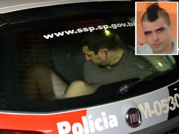 Guilhermo Lozano Oliveira havia sido condenado no ano passado a 15 anode de prisão pelo assassinato do punk Johni Raoni Falcão Galanciak (no detalhe), mas continuou em liberdade por decisão da Justiça (Foto: Edu Silva/Futura Press/Estadão Conteúdo/Arquivo pessoal)