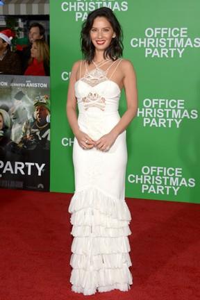 Olivia Munn em première de filme em Los Angeles, nos Estados Unidos (Foto: Matt Winkelmeyer/ Getty Images/ AFP)