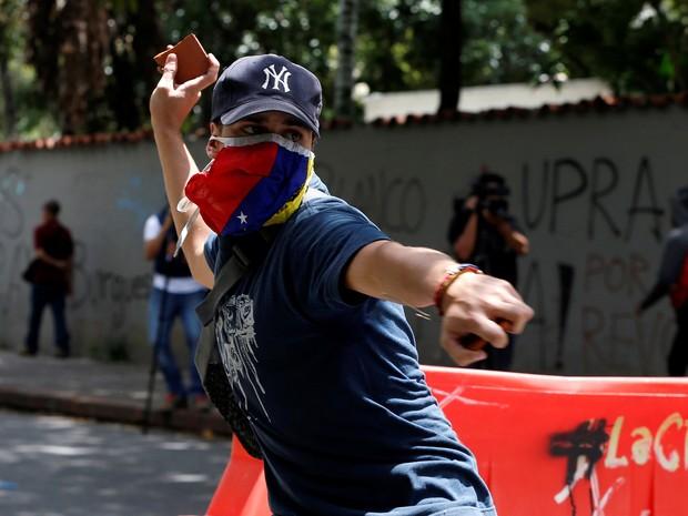 Ainda não está claro se haverá um plebiscito neste ano sobre a revogação do mandato de Maduro (Foto: Reuters/Carlos Garcia Rawlins)