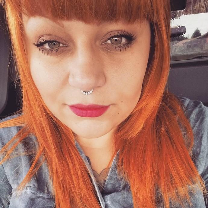 """""""Estou optando pelas cores quentes para tingir os cabelos, nos últimos tempos', revela (Foto: arquivo pessoal)"""
