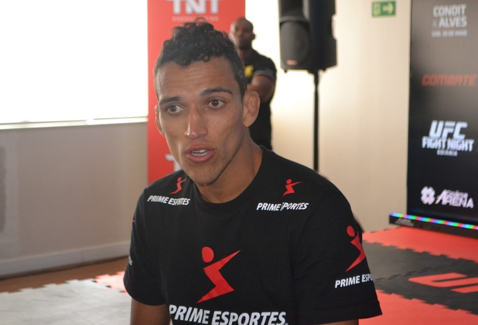 Galeria do treino aberto - Charles do Bronx (Foto: Raphael Marinho/ Globoesporte.com)