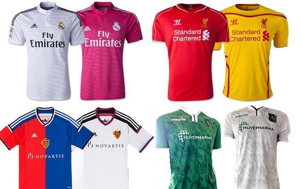9b73369ae96fa As camisas de cada time da Champions
