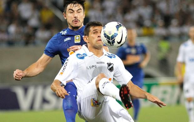 ABC X Cruzeiro (Foto: Nuno Guimarães / Agência estado)