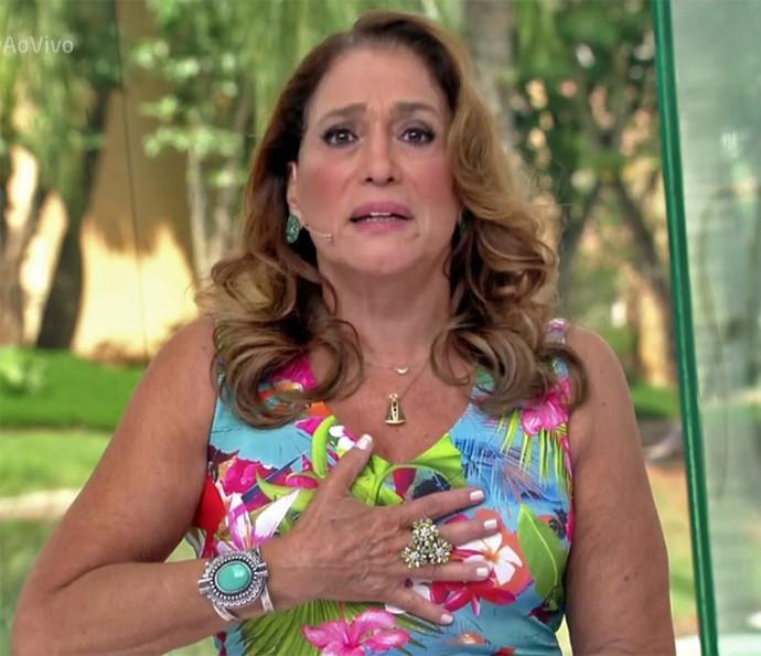 Susana Vieira contou que já gostou de dois amigos (Foto: TV Globo)