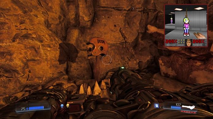 Billy Blaze de Commander Keen aparece morto novamente em um game da série Doom (Foto: Reprodução/DSO Gaming e MyDealz)