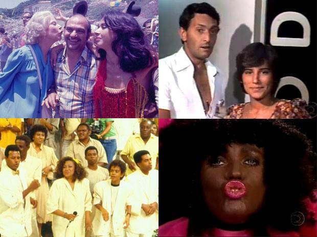 As mensagens de fim de ano da TV Globo (Foto: CEDOC/Reprodução/TV Globo)