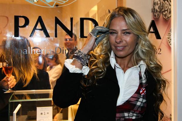 Adriane Galisteu em evento em São Paulo (Foto: Manuela Scarpa / Foto Rio News)