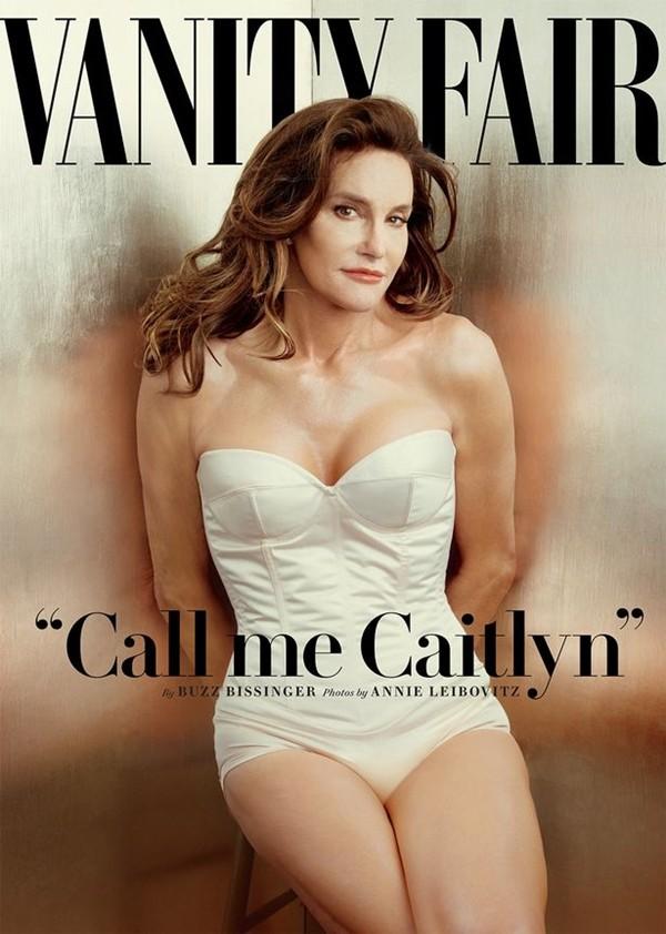 Caitlyn Jenner na capa da Vanity Fair (Foto: Divulgação)