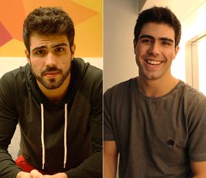 Confira o antes e depois de Juliano Laham (Foto: Raphael Dias/Gshow / Letícia Souza/Gshow)