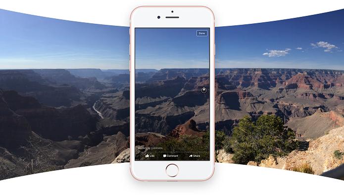 Veja apps para tirar fotos em 360 graus no celular (Foto: Divulgação/Facebook)