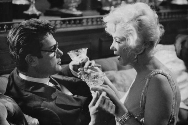 Tony Curtis e Marilyn Monroe (Foto: Divulgação)