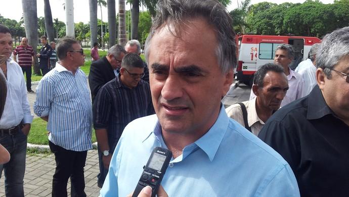 Luciano Cartaxo, prefeito de João Pessoa (Foto: Phelipe Caldas / GloboEsporte.com/pb)