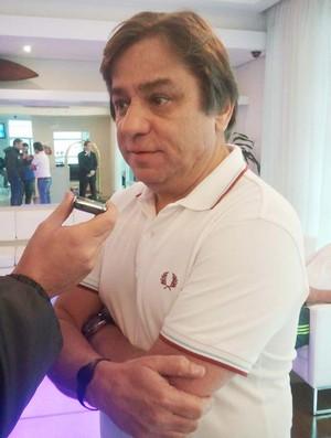Arnaldo Tirone, presidente do Palmeiras (Foto: Diego Ribeiro / Globoesporte.com)