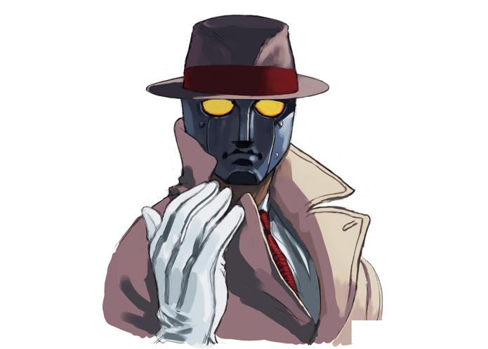 Q tem envolvimento com assassinatos e mistérios insolúveis (Foto: Divulgação/Capcom)