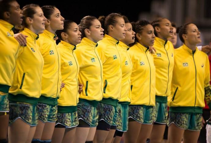 seleção feminina handebol jogos pan-americanos toronto (Foto: Divulgação/CBHb)