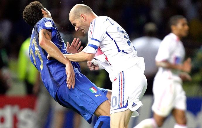 Copa do Mundo 2006 - Materazzi (Foto: Agência Reuters)