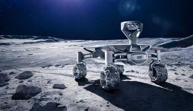 Visual do robô Audi Lunar Quattro (Foto: Divulgação)