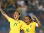 """Marta diz que não busca sucesso individual e """"cogita"""" atuar até na zaga"""