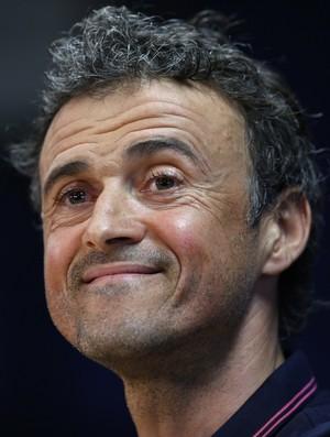 Luis Enrique coletiva Barcelona Bayern (Foto: AP)