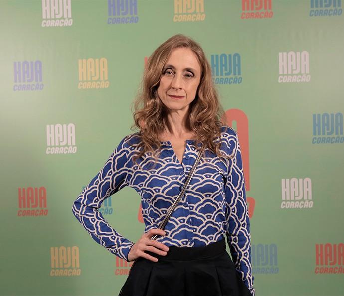 Betty Gofman será Vitória, mãe de Felipe, interpretado por Marcos Pitombo (Foto: Ellen Soares/ Gshow)