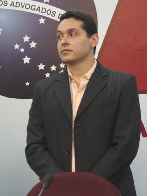 Luciano Benigno, novo presidente do TJD-PI (Foto: Wenner Tito )