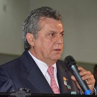 Adelino, presidente do Jabaquara (Foto: Fabrício Lopes / Jabaquara AC)