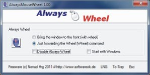 Always MouseWheel, scroll do mac para Windows