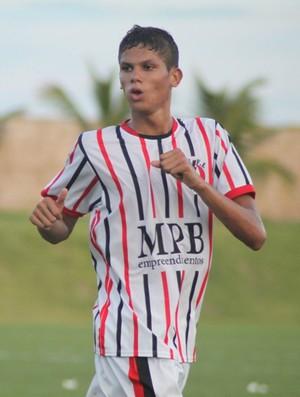 Erick - Força e Luz - Globo FC (Foto: Kaline Rodrigues/Divulgação)