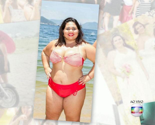 Ideia das fotos surgiu após comentários ofensivos (Foto: TV Globo)