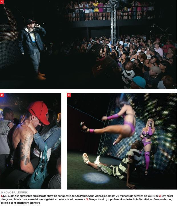 O novo baile Funk (Foto: Rogério Cassemiro)