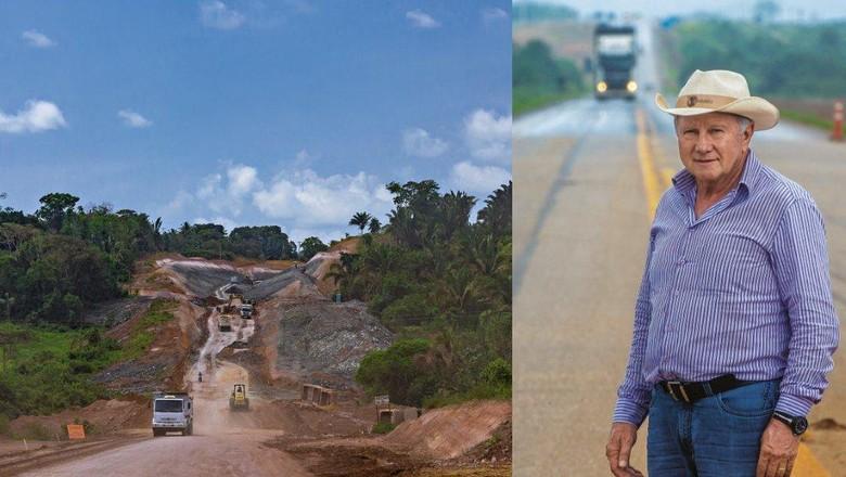 br 163-estrada-safra (Foto: Marcos Camargo)
